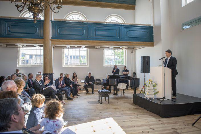 jodendom synagoge opening